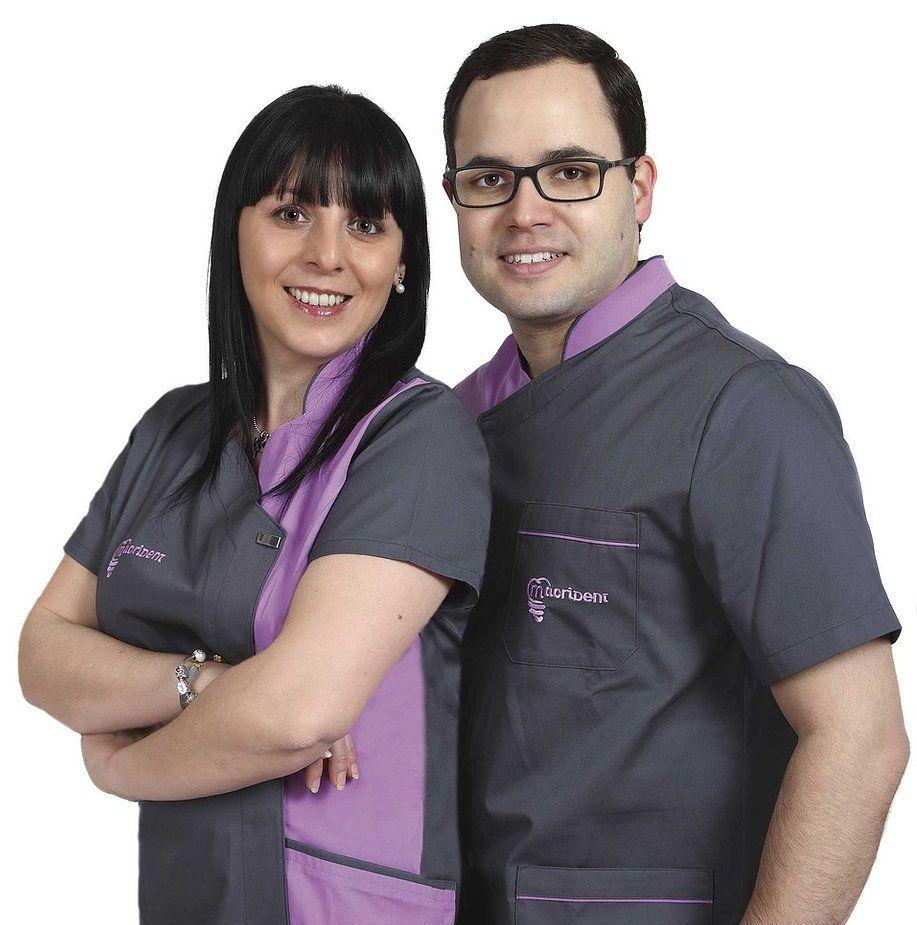 equipo dentistas Macrident implantes Caparroso
